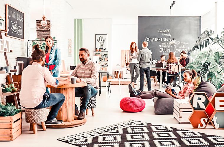 ¿Qué tal una oficina compartida?